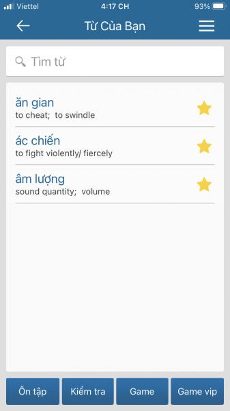 TFlat: Tra tự điển Việt – Anh, Anh – Việt offline trên di động 6
