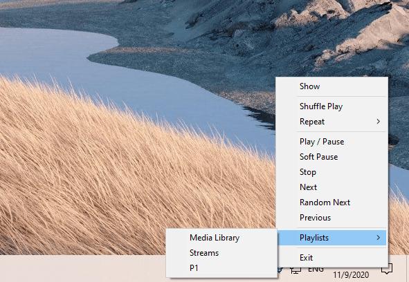 Tuniac Media Player: Trình phát nhạc online miễn phí trên Windows 4