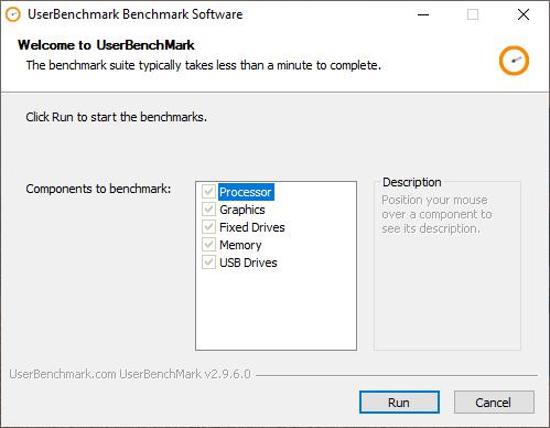 UserBenchmark: kiểm tra hiệu suất, sức mạnh máy tính Windows 2