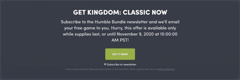 Đang miễn phí game Kingdom: Classic