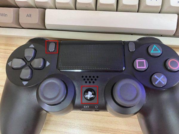 Mở chế độ pair trên tay cầm PS4