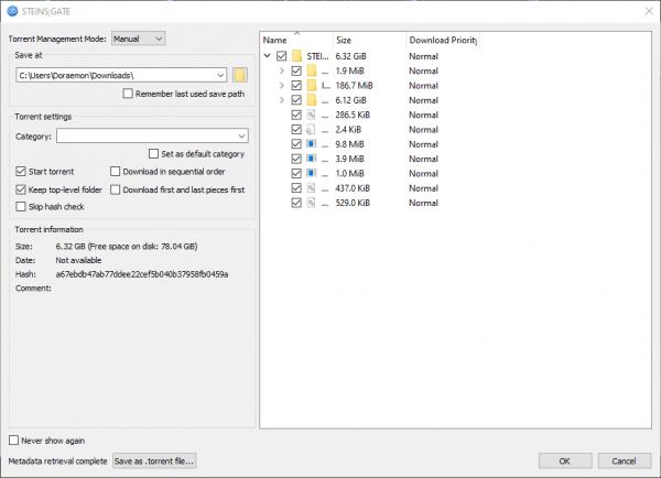 qBittorrent: Công cụ tải torrent, tạo torrent, theo dõi tin tức RSS,… 3