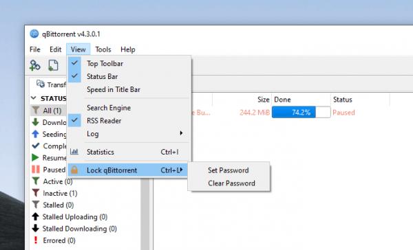 qBittorrent: Công cụ tải torrent, tạo torrent, theo dõi tin tức RSS,… 11