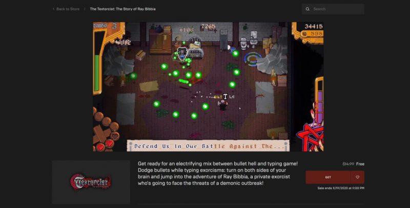 Đang miễn phí game The Textorcist: The Story of Ray Bibbia