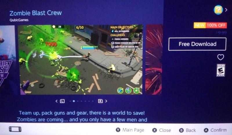 Tải ngay kẻo lỡ 2 game Zombie Blast Crew và Stencil Art cho Nintendo Switch nếu...