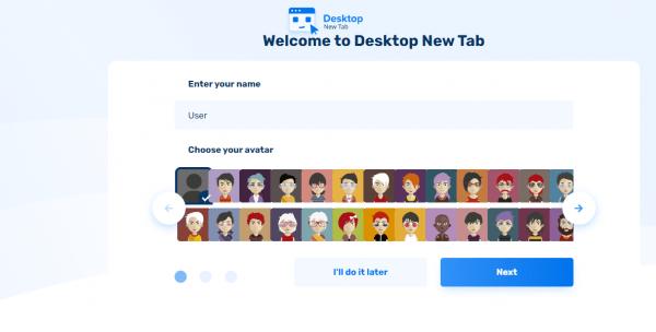 Desktop New Tab: Biến trang New Tab của Chrome giống màn hình desktop 2