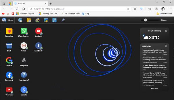 Desktop New Tab: Biến trang New Tab của Chrome giống màn hình desktop 1