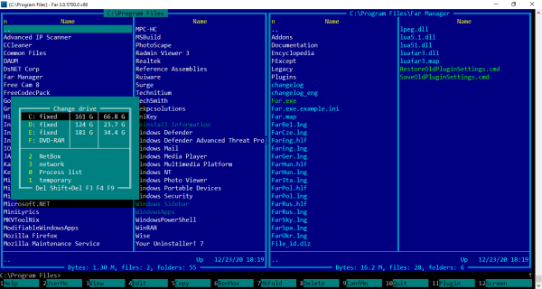 Far Manager: Trình quản lý file mang phong cách MS-DOS 1