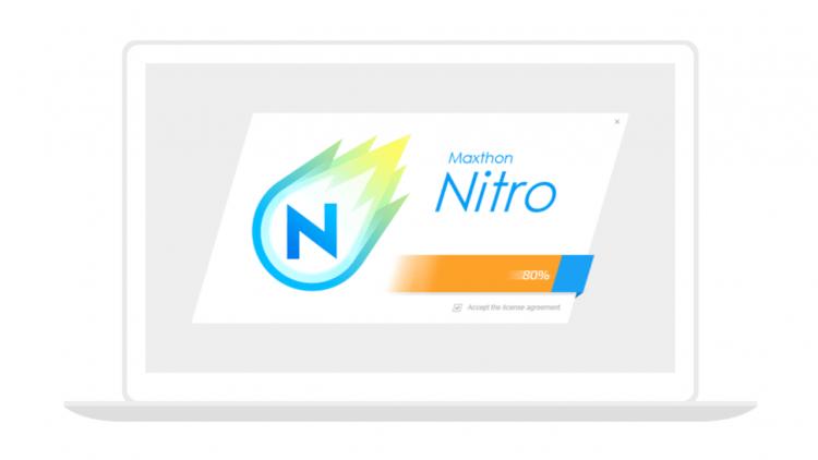 """Maxthon Nitro: Trình duyệt """"tia chớp"""" khởi động siêu nhanh 17"""