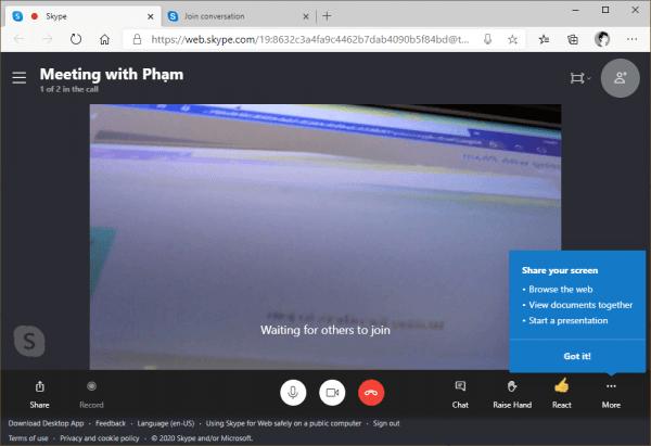 Cách sử dụng Meet Now trên Windows 10 2