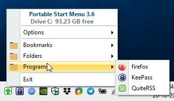 Portable Start Menu: Tạo nút Start menu di động
