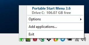 Portable Start Menu