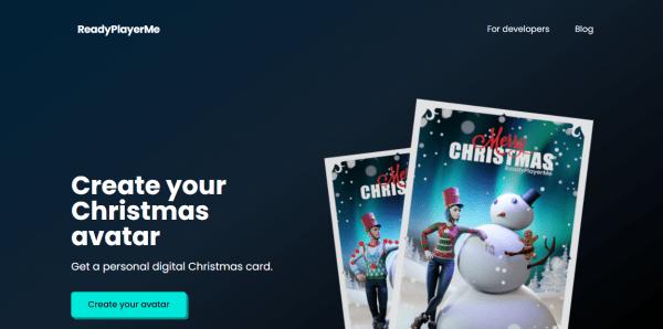 Tạo thẻ chúc mừng Giáng Sinh có hình ảnh 3D của bạn 1