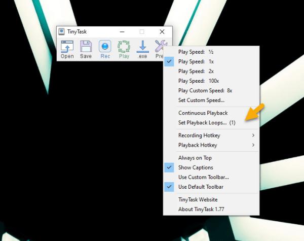 TinyTask: cách lặp lại thao tác trên Windows 2