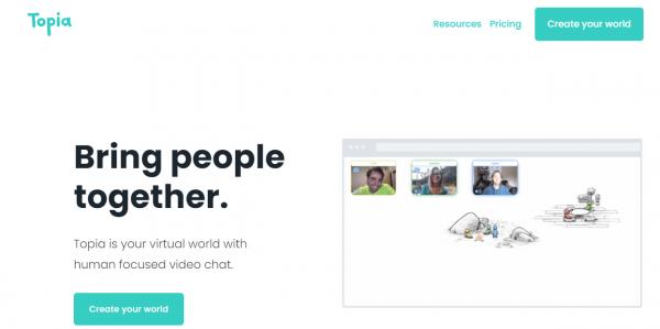 Topia: Tạo thế giới ảo để họp mặt bạn bè cuối năm 1