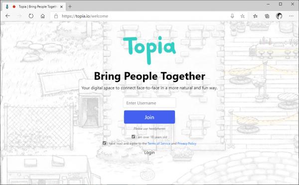 Topia: Tạo thế giới ảo để họp mặt bạn bè cuối năm 3