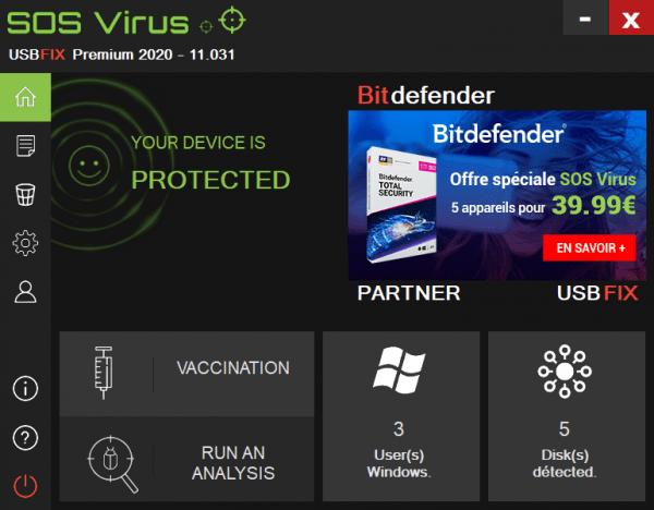UsbFix 2020: Quét, diệt virus cực nhanh cho USB, máy tính 1