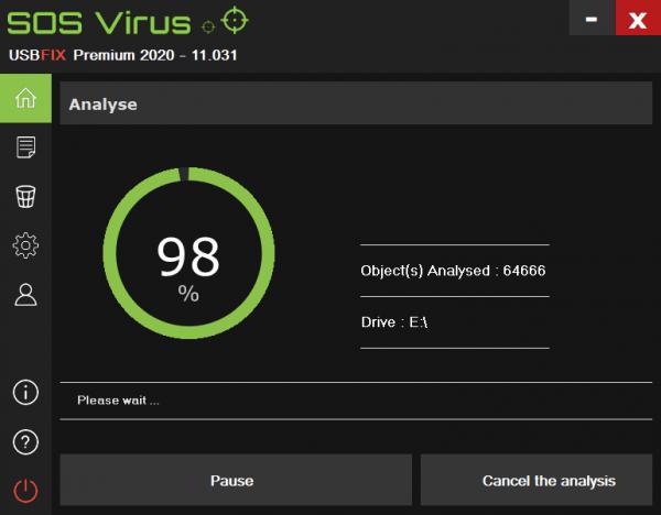UsbFix 2020: Quét, diệt virus cực nhanh cho USB, máy tính 3
