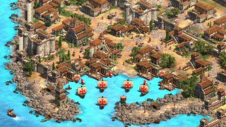 Lords of the West là tên bản mở rộng game Age of Empires II: Definitive Edition 17
