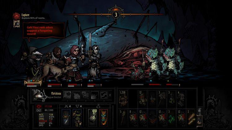 Đang miễn phí game Darkest Dungeon cực hay chỉ 24 tiếng