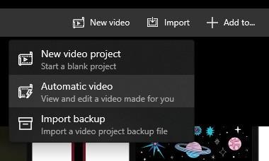 Tạo video slideshow trên Photos