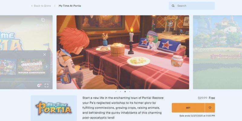 Đang miễn phí game My Time at Portia dễ thương và rất hay chỉ 24 tiếng