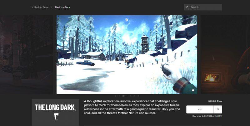 Đang miễn phí game The Long Dark rất hay chỉ 24 tiếng