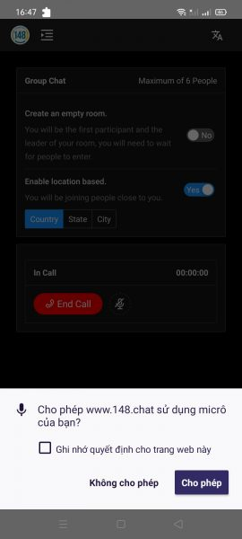 148.chat: Where you can call your friends for free using the browser 2