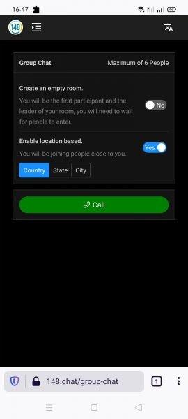 148.chat: Nơi bạn có thể gọi điện miễn phí cho bạn bè bằng trình duyệt