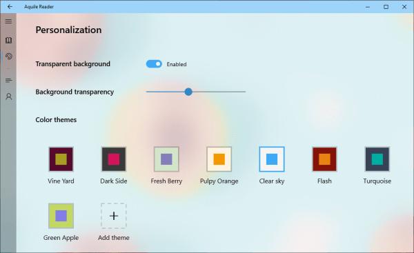 Aquile Reader: Ứng dụng đọc sách ePub tuyệt vời cho Windows 10