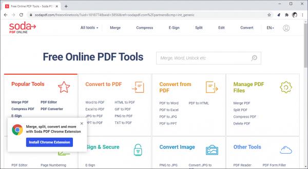 Cách tìm kiếm, mở trang web chuyển đổi file với File Converter Launcher for Chrome 4