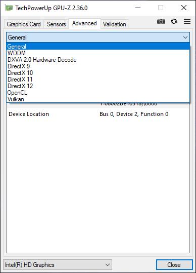 Dùng GPU-Z xem thông số kỹ thuật card màn hình máy tính Windows 10