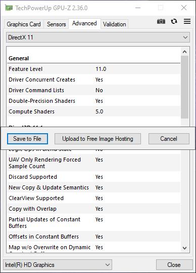 Dùng GPU-Z xem thông số kỹ thuật card màn hình máy tính Windows 12