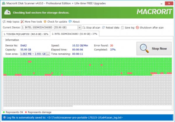 Chia sẻ 14 phần mềm kiểm tra sức khỏe ổ cứng miễn phí (P.2) 15