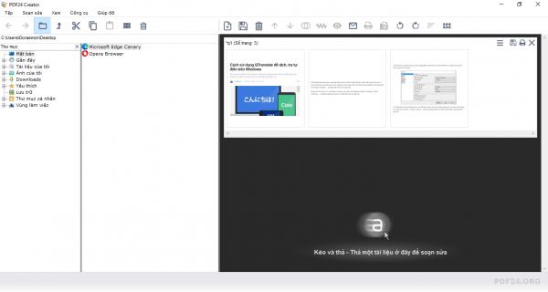 Cách chỉnh sửa PDF trên Windows bằng phần mềm PDF24 18