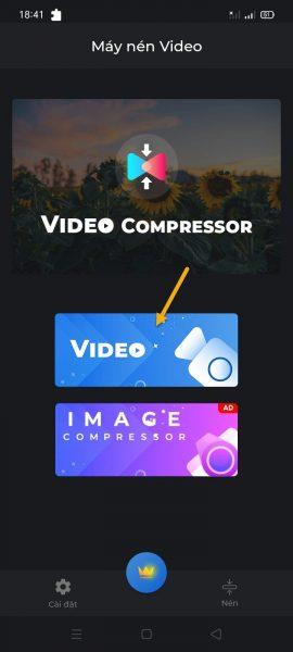 Có 1 ứng dụng tốt giúp bạn nén, chuyển đổi video WebM trên Android 5