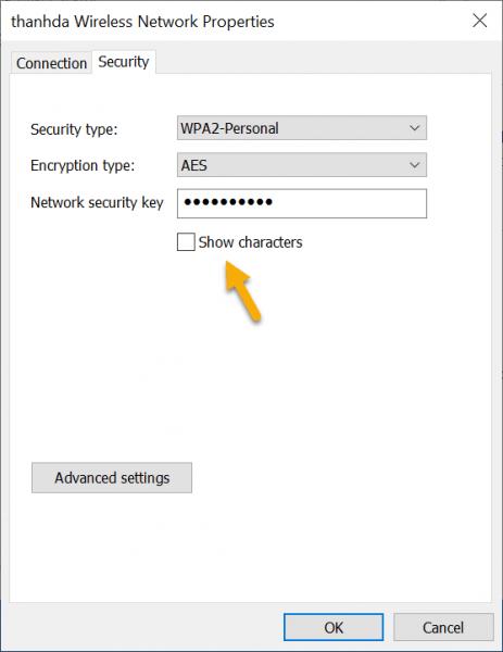 Cách xem mật mã Wi-Fi trên máy tính Windows 8