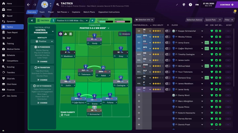 Đánh giá game Football Manager 2021
