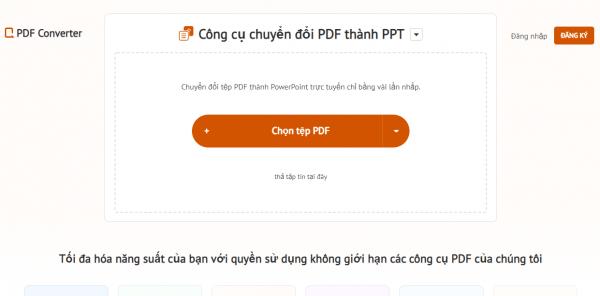 Chia sẻ 7 dịch vụ tiếng Việt chuyển đổi PDF sang PPT, PPTX