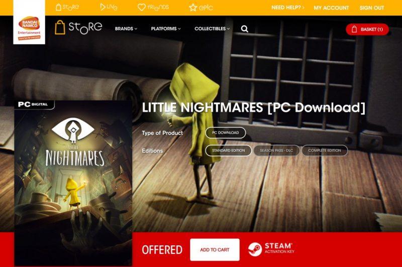 Đang miễn phí game đi cảnh giải đố Little Nightmares trị giá 540 ngàn đồng