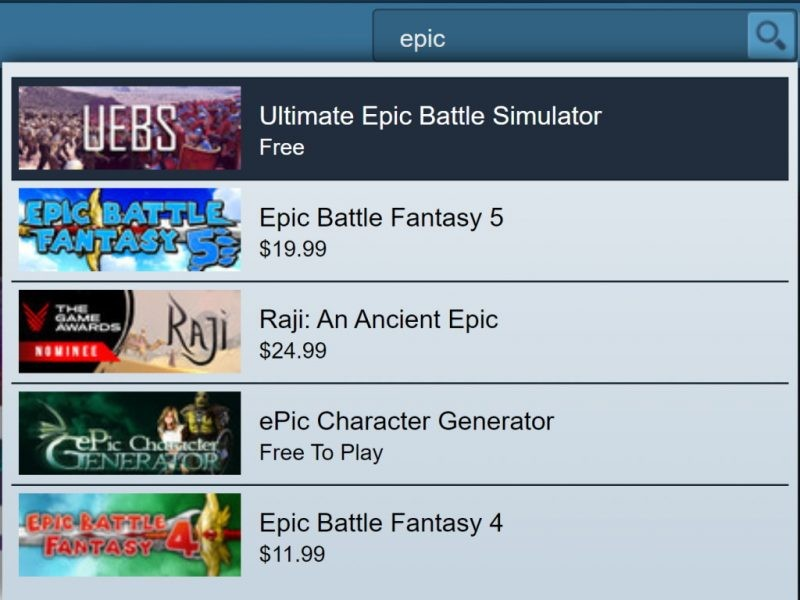 Đang miễn phí game Ultimate Epic Battle Simulator