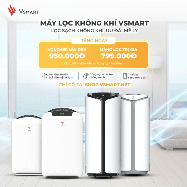 VinSmart mở bán máy lọc không khí và giải pháp nhà thông minh độc quyền trên Vsmart online 4