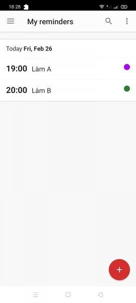 BZ Reminder: tạo nhắc nhở cực hay trên Android