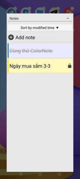 ColorNote: Ứng dụng ghi chú được yêu thích trên Android