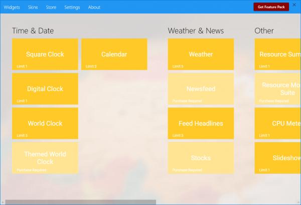 Desktop Gadgets: Đem giao diện Vista lên Windows 10