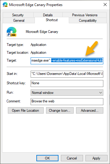 Cách bật tính năng quản lý Extensions trên Microsoft Edge 6
