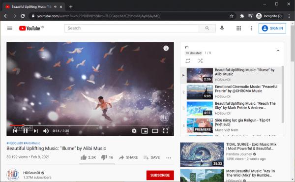 Cách tạo, lấy link chia sẻ danh sách phát YouTube mà không cần tài khoản