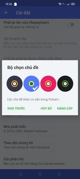Pulsar Music Player: Nghe nhạc không quảng cáo trên Android