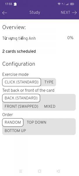 Rolandos Flashcards: làm thẻ ghi nhớ trên Android