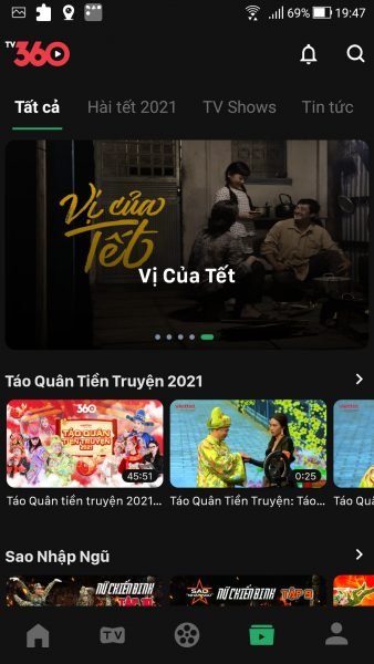 TV360: Ứng dụng xem phim, truyền hình trực tuyến miễn phí của Viettel